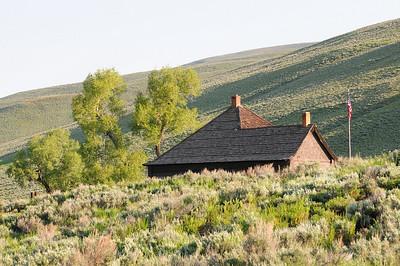 la petite maison des rangers de la Lamar Valley