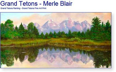 ces montagnes ont inspiré Merle Blair