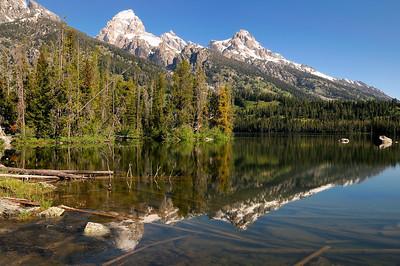 Le Nirvana du photographe, c'est de capturer le reflet des montagnes dans le lac . On va tous s'y essayer!!!