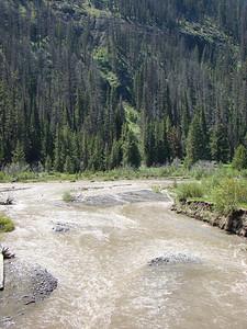 La Shoshone river