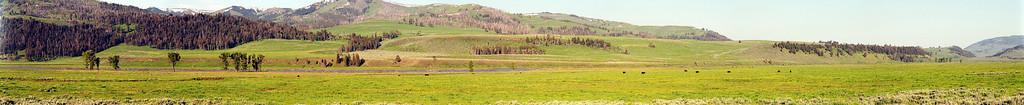 Panorama depuis la maison des rangers